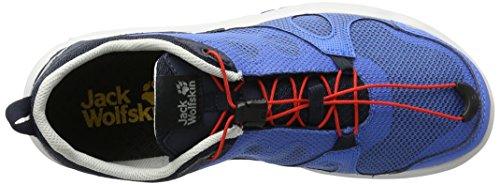Wolfskin Uomo Sportive Low Blue Air Scarpe M Monterey Outdoor Wave Blu Jack dYxwpd
