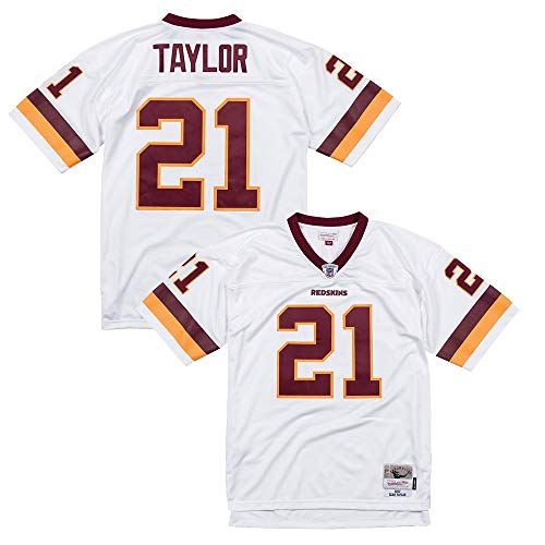 Mitchell & Ness Sean Taylor 2007 Washington Redskins Road White Legacy Jersey