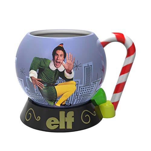 Zak Designs ELFA-1592 Elf Movie Coffee Mugs, Sculpted ()