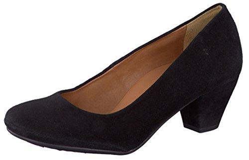 Mephisto Paldi Court Shoe UK 7.5 Black Suede Cm6mQ9G