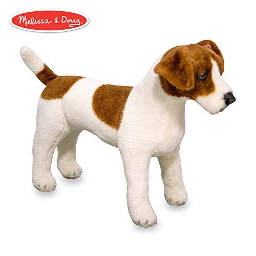 Melissa & Doug Giant Jack Russell Terrier - Lifelike Stuffed Animal Dog (over 12 inches tall)