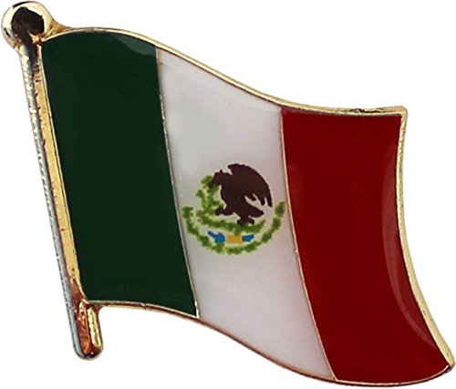 Flagline Mexico - National Lapel Pin