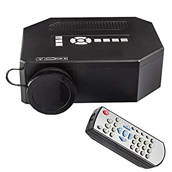 Mhwlai Mini proyector, UC30 Proyector casero HD Micro proyector ...