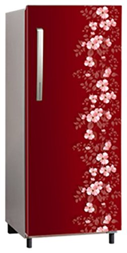 panasonic Direct Cool 202 L Single Door Refrigerator (Maroon)