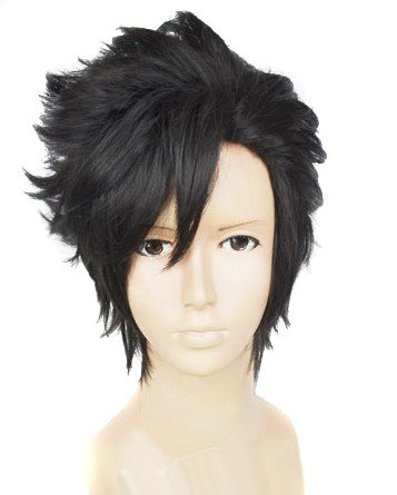 (Black get Tetsuro) Cosplay Wig Anime Eli beauty high queue! Kuroo iron Akira (japan import)