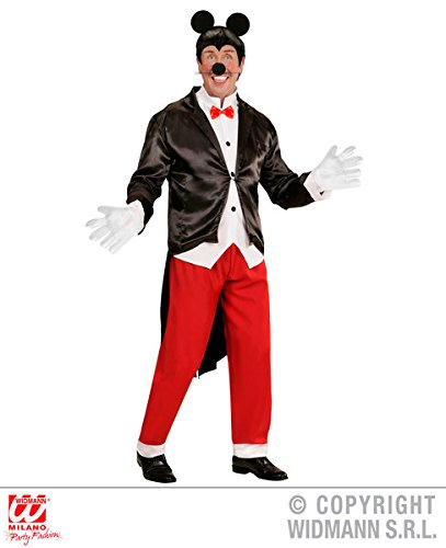 ADULT MENS MICKEY MOUSE FANCY DRESS COSTUME TV STAG NIGHT PARTY