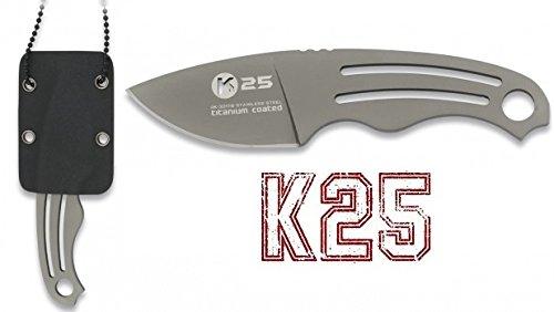 K25 32179 Cuchillos Tácticos de Caza, Unisex Adulto, Talla Única