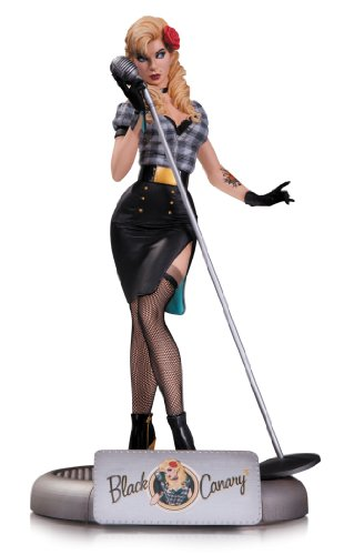 DC Collectibles DC Comics Bombshells: Black Canary Statue