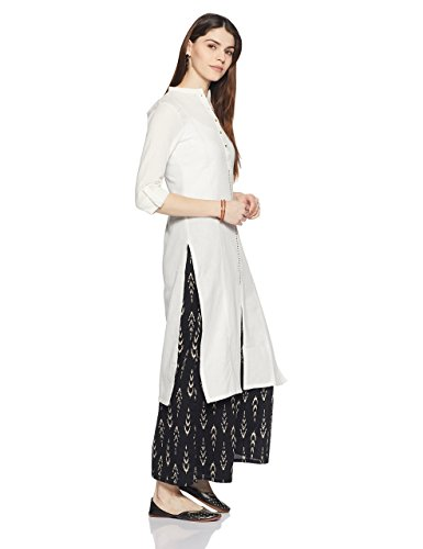 W for Woman 3/4th Sleeve Classic Casual Indian Kurti for Women by W for Woman (Image #1)