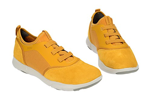 Geox U Tågen S Okker Gul U825aa 02211 C2003 Herre Sneakers Gelb hu3BwUpHFd