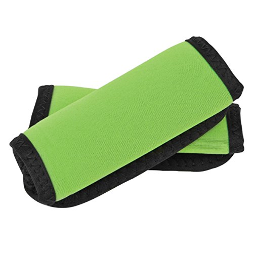 Wrap Luggage Tag (Travelon Set of 2 Handle Wraps, Neon Green)