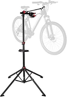 Ultrasport Fahrradmontageständer Expert Caballete Bicicleta como Las de montaña, eléctricas, Estable, hasta 30 kg, Funciones prácticas para la reparación, Unisex Adulto, Rojo, Talla única: Amazon.es: Deportes y aire libre