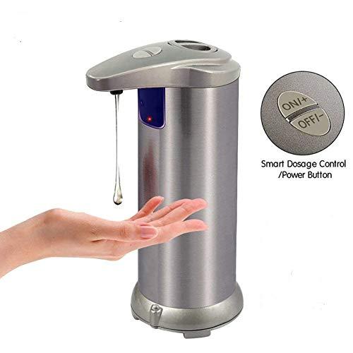 - Shentesel Automatic Soap Dispenser Infrared Motion Sensor Hand Wash Liquid Touchless 280ml