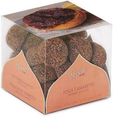 Pastiglie Leone - Jaleas con duraznos y amaretto 190gr: Amazon.es: Alimentación y bebidas