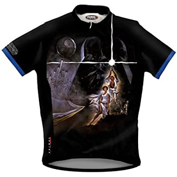 Primal Wear Men s Star Wars A New Hope Short Sleeve Cycling Jersey -  SWE4J10M (M)  Amazon.co.uk  Sports   Outdoors 9e4072d4a