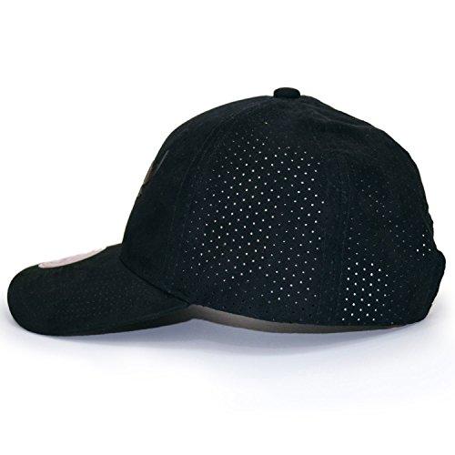 Mitchell hombre para Ness Talla de amp; única béisbol Gorra Negro negro qwT4qARr