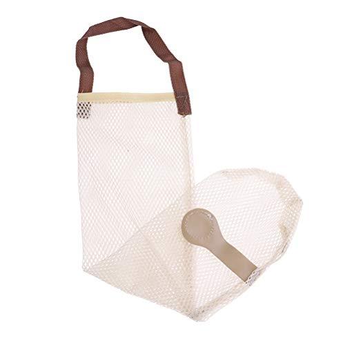 YUYUE Mesh Net Breathable Fruit Vegetable Garlic Onion Hanging Storage Kitchen Bag