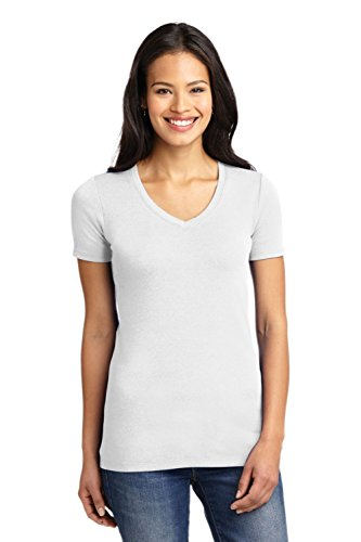 (Port Authority Women's Ladies Concept Stretch V-Neck 3XL White)