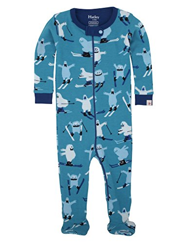Hatley Boys' Footed Coverall, Ski Monsters, 3-6 by Hatley (Image #3)