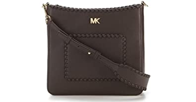 d9f6b75d67ef Image Unavailable. Image not available for. Color: MICHAEL Kors Women's Gloria  Pocket Swing Pack Crossbody Chocolate