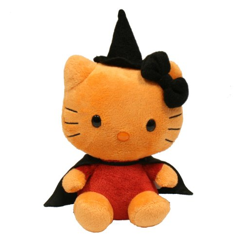 Hello Kitty Halloween Plush (Ty Beanie Baby Hello Kitty)
