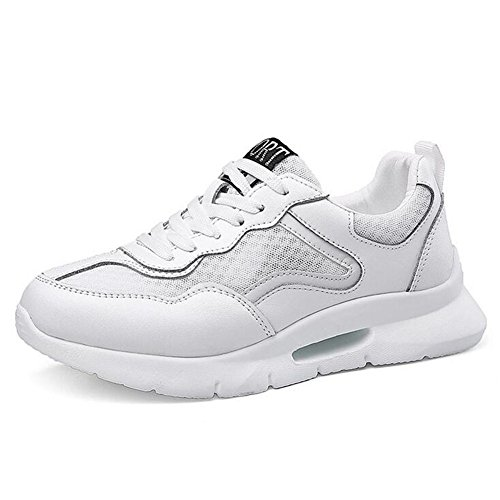 Zapatos de Mujer Summer Fall New Sneakers, Salvaje Casual Transpirable Neto Zapatos, con Cordones Gruesos Bottom Ladies Shoes Do