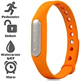 UIMI TW02 Fitness Band with 3 Indicator Lights (orange)
