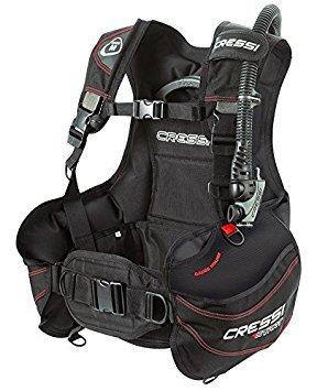 Cressi R1 Weight Integrated BCD, Black/Grey/Red, X-Large