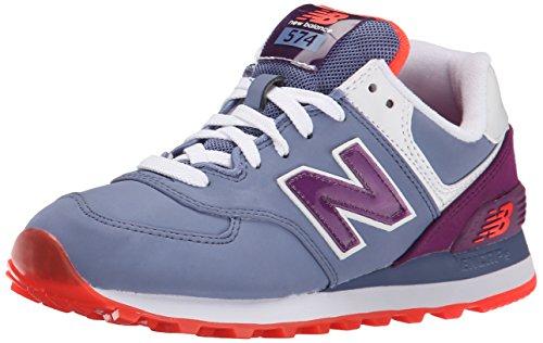New BalanceWL574 B Zapatillas Deportivas para Mujer Nubuck Persian Purple