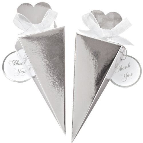 Wilton Cone Favor Kit, Silver