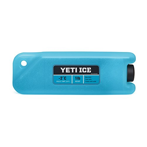YETI ICE 1 lb. Refreezable Reusable Cooler Ice Pack 1 Chest Pack