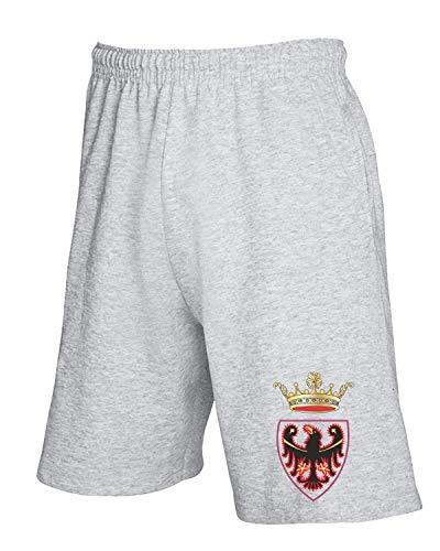 Pantaloncini shirtshock Tuta Citta T Provincia Trento Grigio Tm0121 Di 57qPd