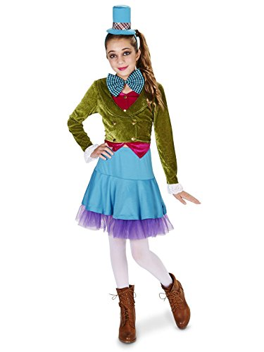 Lime Green Blue Mad Hatter Tween Costume Juniors 0-3]()