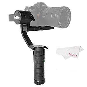 Beholder DS1 Handheld Stabilizer 3-Axis Brushless Gimbal for DSLR Camera Support Weight 2kg