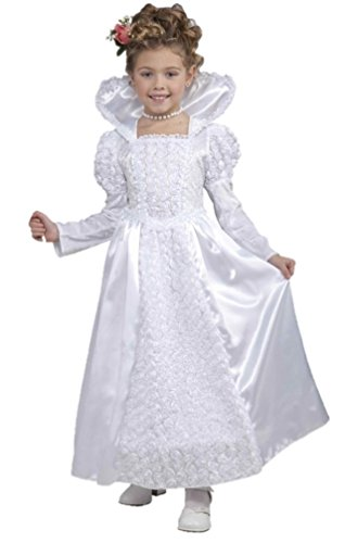 Forum Novelties Deluxe Designer Collection Bride Princess Costume, Child Large (Princess Bride Costumes)