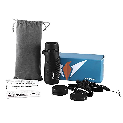 Wingspan Optics Scout 6X32 Compact Wide View Monocular with Carry Clip. Lightweight, Waterproof and All-Climate Durable. Perfect for Nature Lovers, Hikers and Bird Watchers on the Go by Wingspan Optics (Image #5)