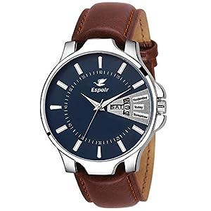 Espoir Analog Blue Dial Men's Watch-LCS-96145
