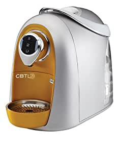 CBTL Kaldi S04 Single Cup Brewer, Gold/Silver