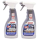 Sonax (230241) Wheel Cleaner Plus - 16.9 fl. oz. TWO Pack