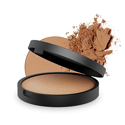 INIKA Baked Mineral Foundation Powder All Natural Make-up Base, Vegan, Hypoallergenic, Dermatologist Tested, Halal, 8g (Confidence) -  BBF0009