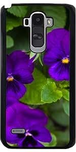 Funda para LG G4 Stylus - Flores De Color Púrpura by loki1982