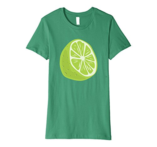 Womens Lime Halloween Costume T-Shirt - Guacamole Group Small Kelly Green