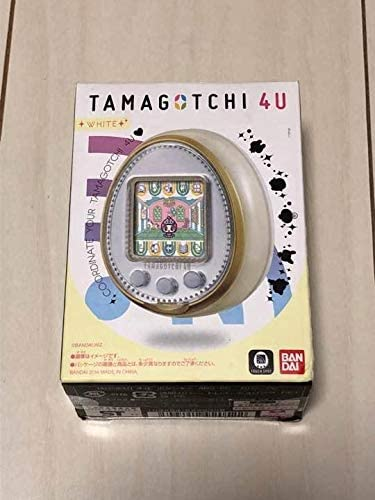 TAMAGOTCHI 4U WHITE たまごっち 4U ホワイト
