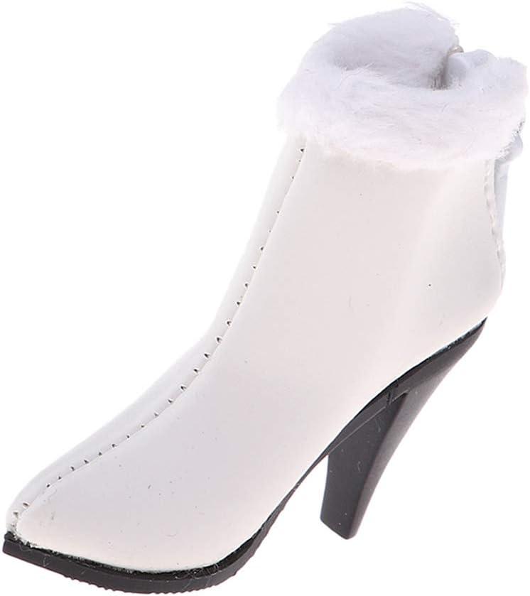 Echelle 1:12 Paire de Chaussures /à Talons Hauts/ de Figurines V/êtement pour Action Figure Femme sharprepublic Jeu de Simulation