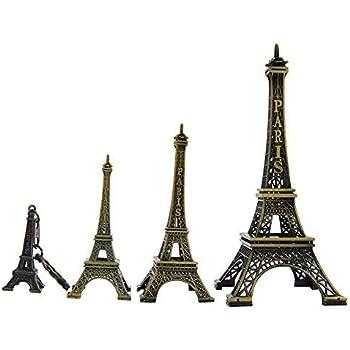 Amazon.com: Ceeyali - Estatua de metal con diseño de Torre ...