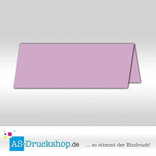 Große Tischkarte Tischkarte Tischkarte Platzkarte - Flieder 100 Stück 13,2 x 5,1 cm B079PZW5X4 | Qualität und Verbraucher an erster Stelle  5b4091