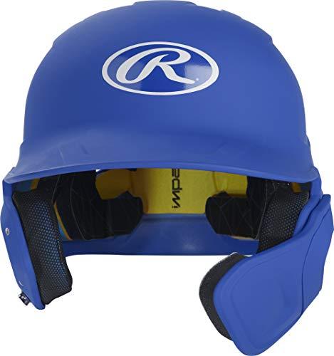 Rawlings MACHEXTR-R7-SR 2019 Mach Baseball Batting Helmet, Matte Royal by Rawlings