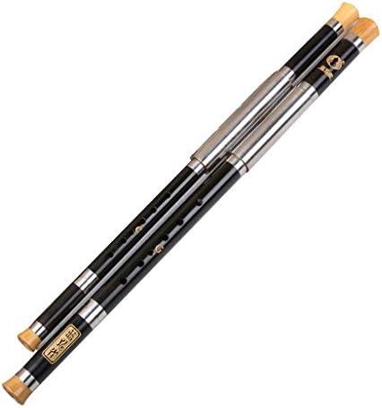 楽器 Bawuフルート生演奏Bawu黒檀2個セットBawu横型Bawu伝統楽器ギフト 木管楽器 (Color : F+G)