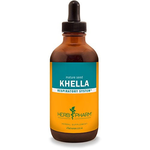 Herb Pharm Khella Extract for Respiratory System Support - 4 Ounce - Support Tincture