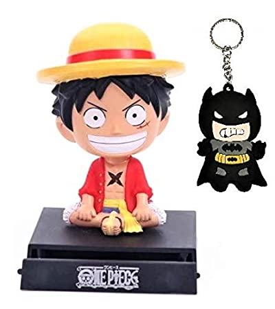 Blue Aura Monkey D Luffy Bobble Head With Stand Mobile